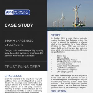 APH engineering case study 360mm cepac